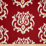 Terrasol Indoor/Outdoor Pamilla Ikat Chilli Pepper Fabric
