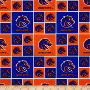 Collegiate Cotton Broadcloth Boise State University Fabric