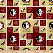 Collegiate Cotton Broadcloth Florida State University Fabric