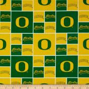 Collegiate Cotton Broadcloth University of Oregon Fabric