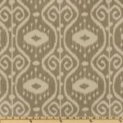Magnolia Home Fashions Bali Ikat Stone Fabric