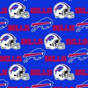Cotton NFL Buffalo Bills Pro Sports Team Football Cotton Fabric Print by the Yard