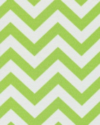 140cm CHEVRON LIME INDOOR/OUTDOOR FABRIC By The Yard