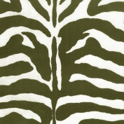 140cm Zebra Black & White Indoor/Outdoor Fabric By The Yard