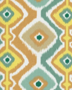 140cm Ikat Mesa citron Indoor/Outddor Fabric By The Yard