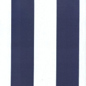 140cm Deck Stripe Royal/White Blue/White Indoor Outdoor Fabric By The Yard