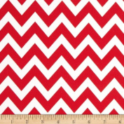 Remix Chevron Red Fabric