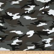 Camo Army Camo Grey Fabric