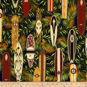 Hoffman Tropical Collection Surfboard Navy Fabric