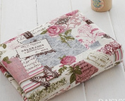 Cotton Linen Fabric Cloth - Cloth Art Manual Cloth Restore Ancient Ways Butterfly Rose