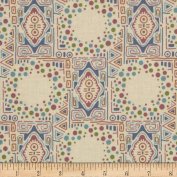 Downton Abbey Lady Sybil Mosiac Tan Fabric
