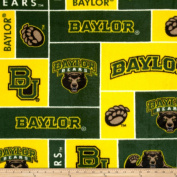 Collegiate Fleece Baylor University Fabric