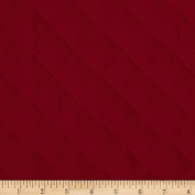 Double Sided Quilted Broadcloth Ming Red Fabric