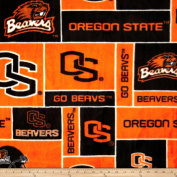 Collegiate Fleece Oregon State Fabric