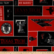 Collegiate Fleece Texas Tech University Fabric