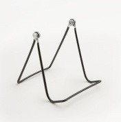 Set of 23, Black Wire Easels for Countertop, Works With Books, DVDs and Plates, Completely Adjustable