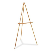 Quartet Lightweight Tripod Floor Easel, 160cm High, Natural Oak