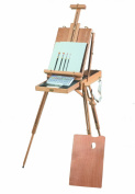 Martin Rivera Wooden Sketch Box Easel and Watercolour Painting Kit