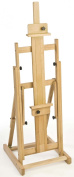 Displays2Go Fully Adjustable Beech Wood Studio Artist Easel with Non-Skid Rubber Feet