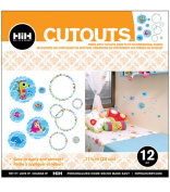 Hip In a Hurry 3D Decor Cut Outs 33cm -Under The Sea #2