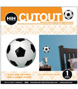 Hip In a Hurry 3D Decor Cut Outs 11cm Minis-Soccer