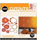Hip In a Hurry 3D Decor Cut Outs 33cm -Geo Circles