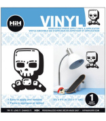 Hip In A Hurry Vinyl 11cm Minis-Cool Skull