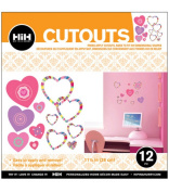 Hip In a Hurry 3D Decor Cut Outs 33cm -Sweetheart #2