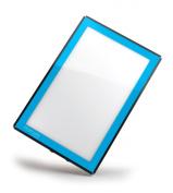 Porta-Trace LED Light Panel, Blue Frame, 41cm by 46cm