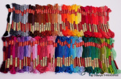 100 ThreadNanny DMC Colour Embroidery Cross Stitch Threads Floss/skeins
