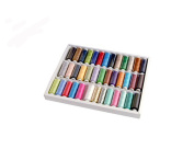 39 Assorted Spools of Polyester Sewing Thread 200 Yards Each£¨Spools:2 by 6.4cm)