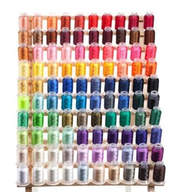100 Spools Embroidery Machine Thread