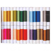 High-class Silk Embroidery Thread of 30 Colours ?Japan Import)