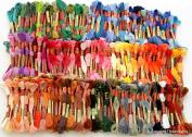 447 ThreadNanny ALL DMC Colours Embroidery Cross Stitch Threads Floss/skeins Full DMC range of Colours
