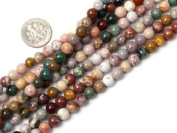 Different Sizes Round Ocean Jasper Beads Strand 38cm Jewellery Making Beads