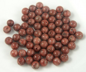 Brazil Agate Gemstone Beads 6mm Rounds - 64 beads