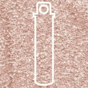 Transparent Mist Pink Lustre (Db1223) Delica Myiuki 11/0 Seed Bead 7.2 Gramme Tube Approx 1400 Beads