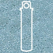 Opaque Light Blue Lustre (Db218) Delica Myiuki 11/0 Seed Bead 7.2 Gramme Tube Approx 1400 Beads