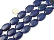 """10X14mm Oval Lapis Lazuli Beads Strand 15"""" Jewellery Making Beads"""