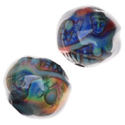 Mirage Colour Changing Mood Beads - Mermaid's Tale Round Spacer Beads 16.5mm