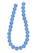 Tennessee Crafts 3004 Glass Beads, Round, Sapphire, 8mm