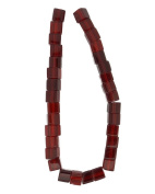 Tennessee Crafts 2742 Glass Beads, Red, 6mm