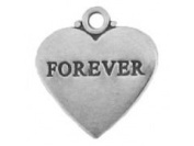 Sterling Silver Forever Charm