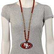 San Francisco 49ers Marti Gras Beads by ETON