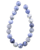 Tennessee Crafts 1008 Semi Precious Blue African Sodalite Beads, Round, 10mm