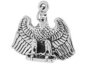 Sterling Silver 20x23mm Eagle Charm