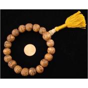 Tibetan Mantra Bodhi Seed 18 Beads Wrist Mala