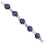 Fiona CBS-01 Crystal Web Shape Beads Strands
