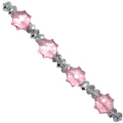 Fiona CBS-16 Crystal Web Shape Beads Strands