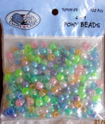 Create A Craft 6mm X 9mm Pony Beads